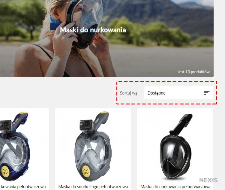 Domyślna kolejność wyświetlania produktów w PrestaShop