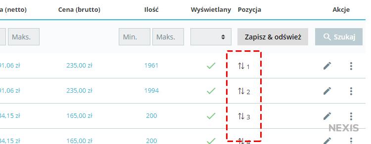 Zmiana kolejności wyświetlania produktów w PrestaShop